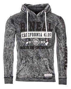 California Hoodie Anthracite