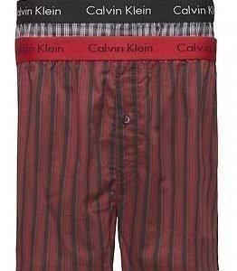 Calvin Klein 2pack Slim Fit Boxers Reb/Black Stripes