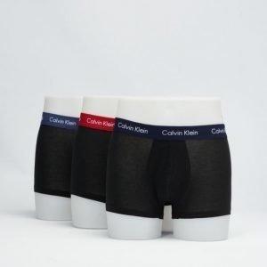 Calvin Klein 3-pack Lowrise Trunk CIU Black
