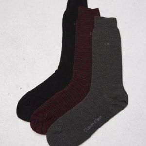 Calvin Klein 3-pack Red/Grey/Black