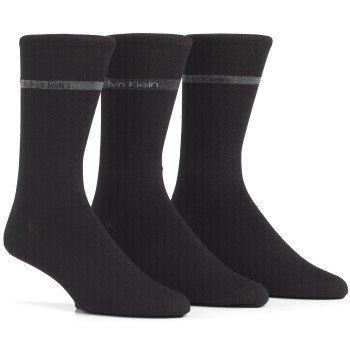 Calvin Klein Bamboo Band Logo Socks 3 pakkaus
