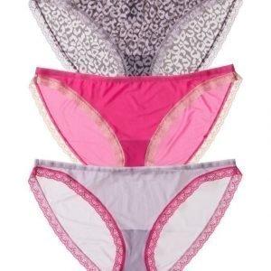 Calvin Klein Bottoms Up Bikini Alushousut 3-Pack
