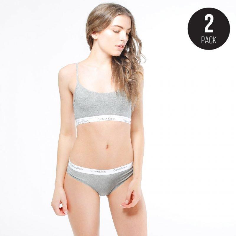 Calvin Klein CK Cotton Bikini 2-pack -pikkuhousut