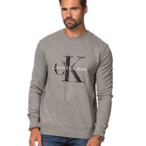 Calvin Klein CK Logo Crew Neck 073 Grey