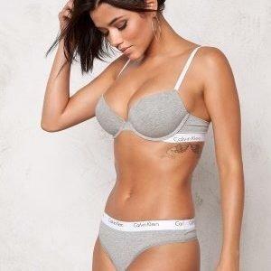 Calvin Klein CK One Cotton Thong Grey Heather