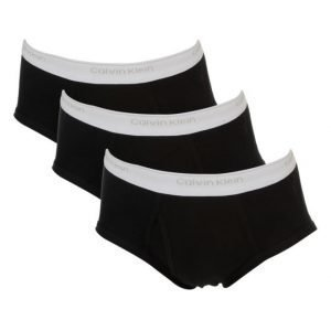 Calvin Klein Cotton Basics 3-Pack 001 Black
