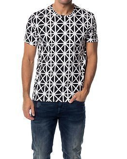 Calvin Klein Geocross Print Black