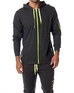 Calvin Klein Hooded Jacket Active Grey