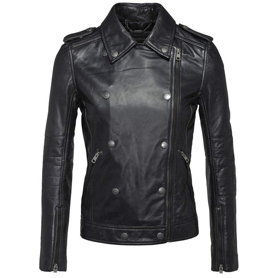 Calvin Klein Jeans Aurala Leather Biker Naisten Nahkatakki