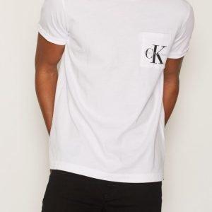 Calvin Klein Jeans Bolan True Icon CN Tee SS T-paita Bright White
