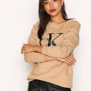 Calvin Klein Jeans Crew Neck Hwk True Icon Svetari Tannin