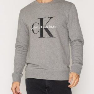 Calvin Klein Jeans Crewneck Hwk Pusero Heather Grey