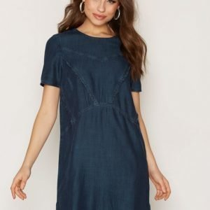 Calvin Klein Jeans Daria Rn S / S Tencel Dress Loose Fit Mekko Indigo