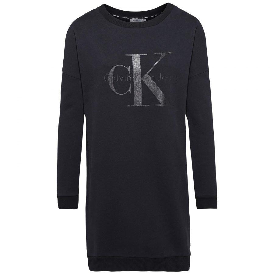 Calvin Klein Jeans Dovali Crew Neck Ls Collegemekko