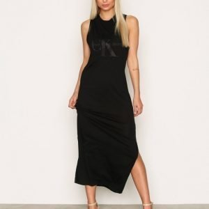Calvin Klein Jeans Drew True Icon Maxi Dress Maksimekko Black