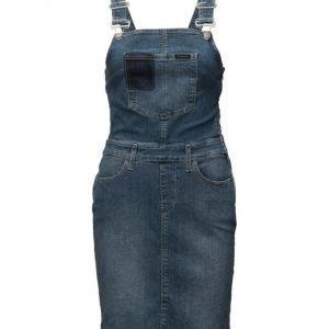 Calvin Klein Jeans Dungaree Dress Uni lyhyt mekko