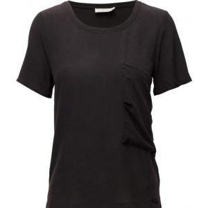Calvin Klein Jeans Efa Cn Woven Top S/S lyhythihainen pusero