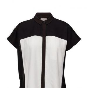 Calvin Klein Jeans Ethna Woven Top N/S lyhythihainen pusero