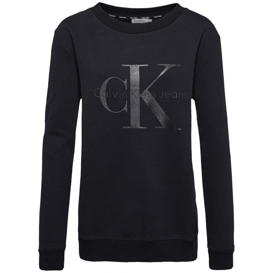 Calvin Klein Jeans Halan Crew Neck Ls Naisten Collegepusero