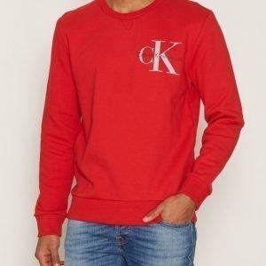 Calvin Klein Jeans Haro 1 True Icon Cn Hknit Ls Pusero Fiery Red