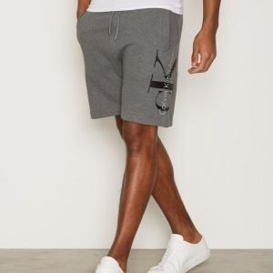 Calvin Klein Jeans Haro 4 True Icon Sweat Short Shortsit Heather Grey
