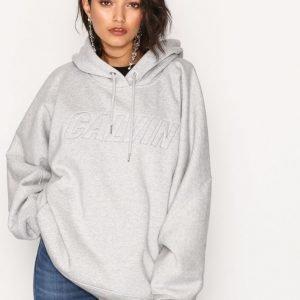 Calvin Klein Jeans Hc Pullover Hoodie Huppari Light Grey
