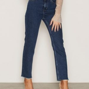 Calvin Klein Jeans High Rise Cropped Skinny Farkut Stone Blue