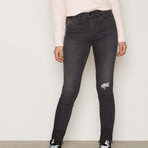 Calvin Klein Jeans High Rise Skinny Rebel Farkut Shadow