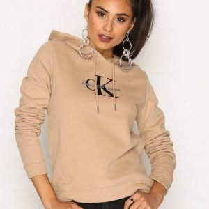 Calvin Klein Jeans Honor Pullover Hoody Hwk Huppari Tannin