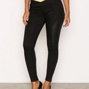 Calvin Klein Jeans Motion Flow Blocked Skinny Farkut Black