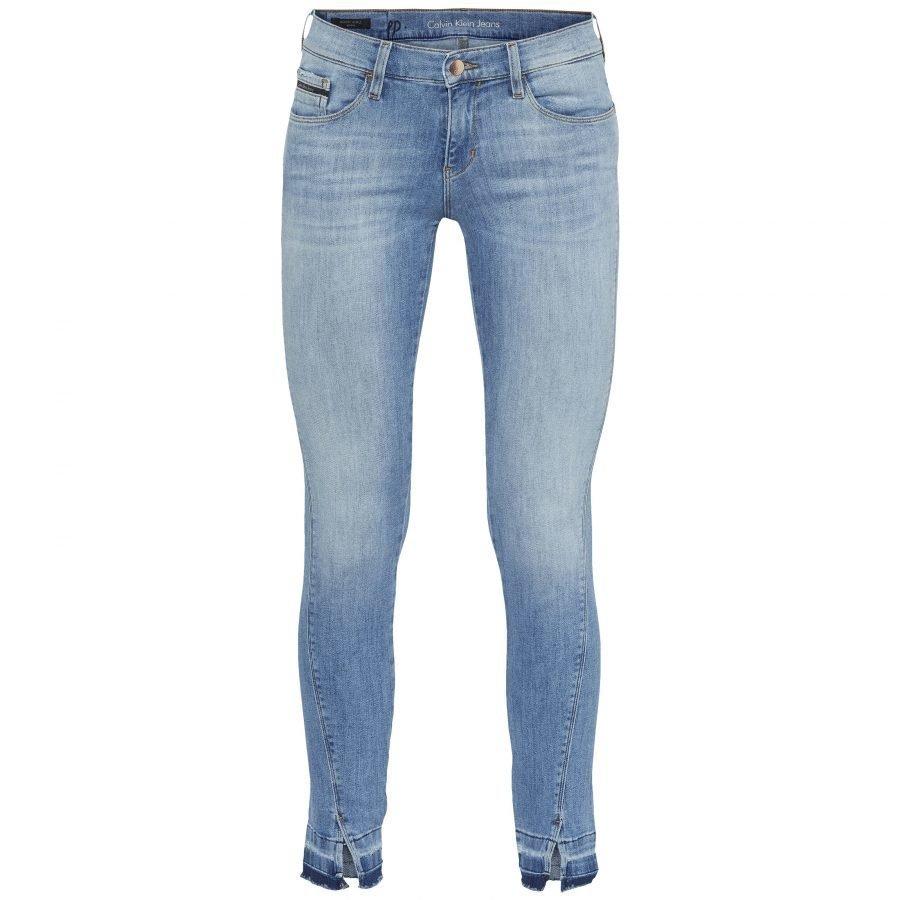 Calvin Klein Jeans Mr Skinny Twisted Ankle Naisten Farkut
