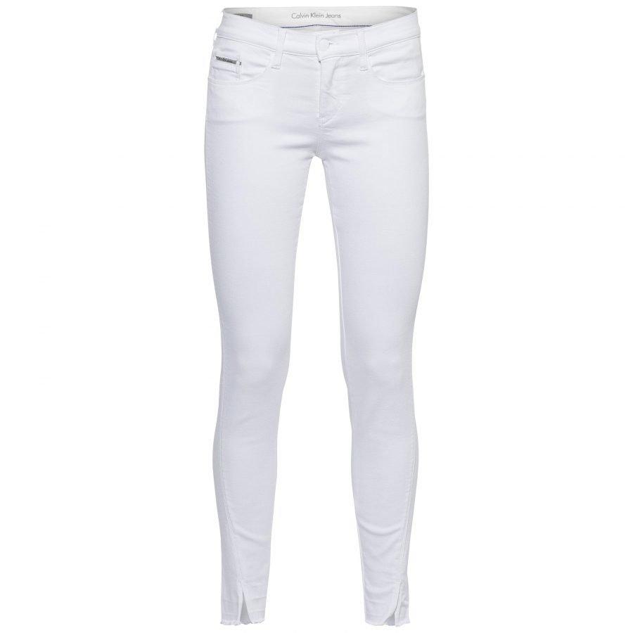 Calvin Klein Jeans Mr Skinny Twisted White Naisten Farkut