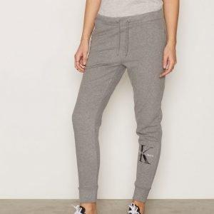 Calvin Klein Jeans Phord True Icon Hwk Pants Housut Light Grey Melange