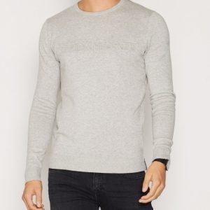 Calvin Klein Jeans Salvo 1 CN Logo Sweater LS Pusero Heather Grey