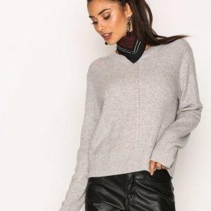 Calvin Klein Jeans September Cn Sweater Neulepusero Light Grey
