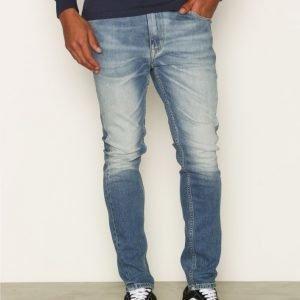 Calvin Klein Jeans Skinny Taper Farkut Blue