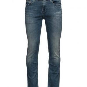 Calvin Klein Jeans Slim Straight Aqua slim farkut