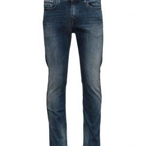 Calvin Klein Jeans Slim Straight Elastic Mid slim farkut