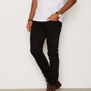Calvin Klein Jeans Slim Straight Jeans Farkut Black