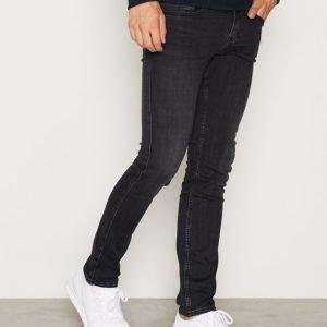 Calvin Klein Jeans Super Skinny Elastic Black Farkut Black