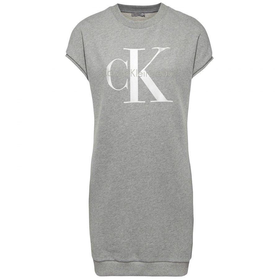 Calvin Klein Jeans True Icon Ss Lyhyt Collegemekko