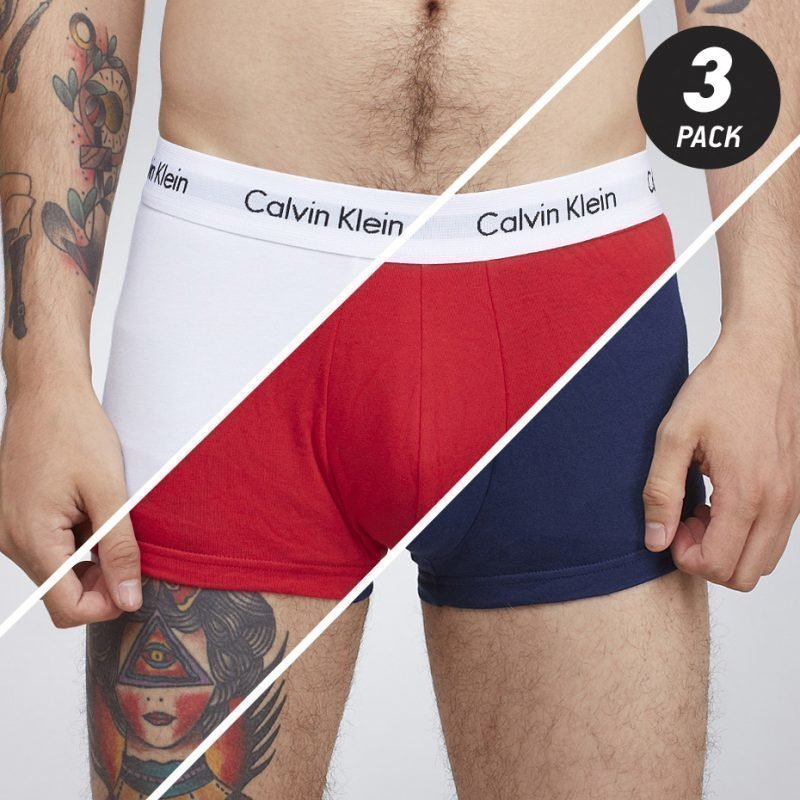 Calvin Klein Lo Rise Trunk 3-pack -bokserit
