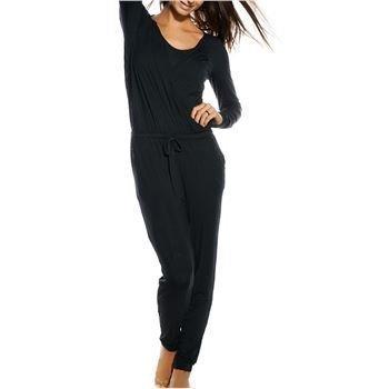 Calvin Klein Longsleeve Jumpsuit Black