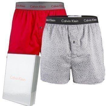 Calvin Klein Loungewear Woven Boxer Gift Box 2 pakkaus
