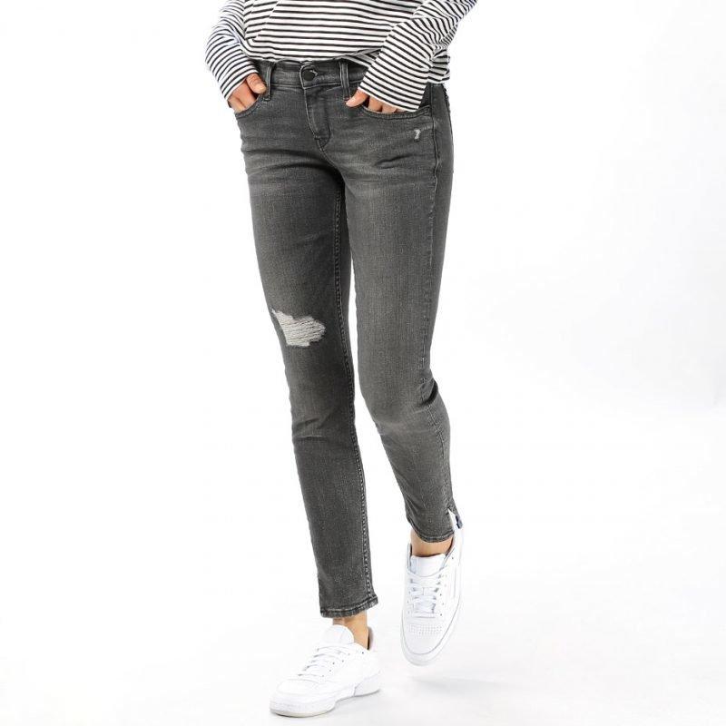 Calvin Klein MR Skinny Ankle Slit -farkut