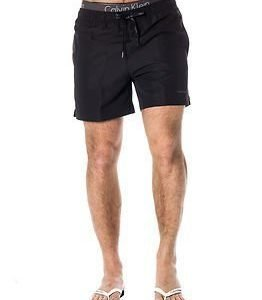 Calvin Klein Medium Drawstring Swimshort Black