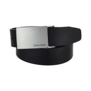 Calvin Klein Mino Plaque Nahkavyö