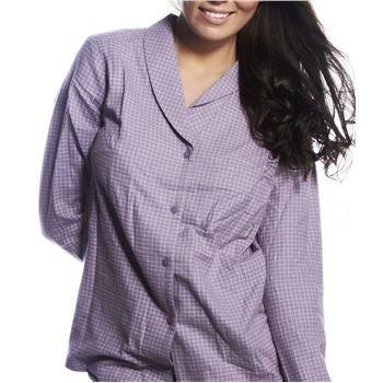 Calvin Klein Pyjamas Shirt Gwendolyn Check Lilac