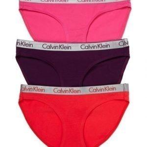 Calvin Klein Radiant Cotton Bikini Alushousut 3-Pack