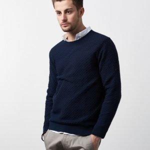 Calvin Klein Satter Knit Navy